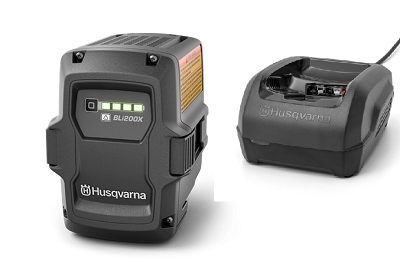 HUSQVARNA BC 0.8 Batterieladegerät Greul Onlineshop