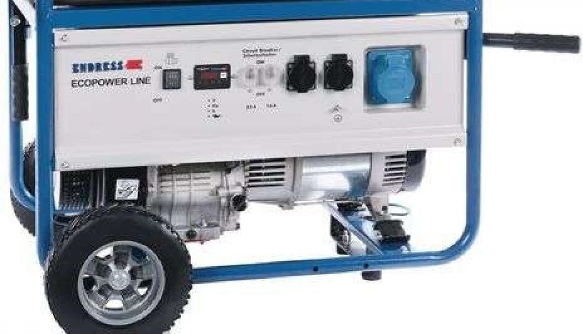 Endress ESE 6000 BS 4-Takt Stromerzeuger mit AVR Regelung, NOTSTROM, Generator, 230 V/ AC 90 kg, FÜR HAUSEINSPEISUNG