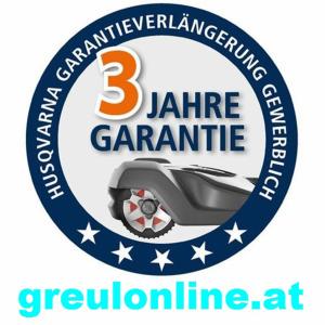 Husqvarna 3 Jahre Garantie ( Gesamt Garantie 5 Jahre ) Nr.3