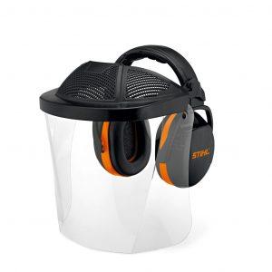 STIHL Gesichts-/Gehörschutz kurz mit Kunststoffscheibe