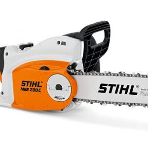 STIHL MSE 230 C-B Elektrosäge mit Kettenschnellspannung